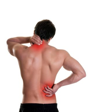 Back pain massage therapy